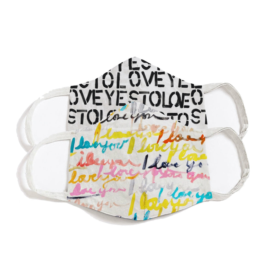 Face Covers - The Love Set