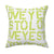 Yes To Love Citrine Pillow