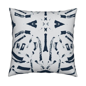 Tigre Indigo Pillow
