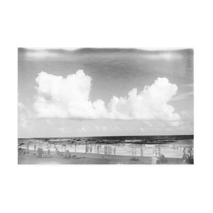 Beach Photograph, Black + White