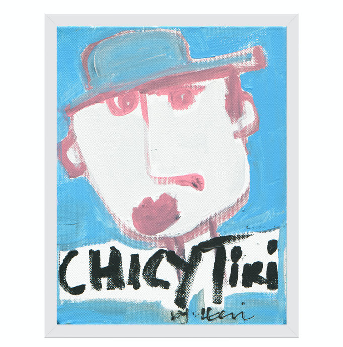 Chicy Tiki In NYC Art Print