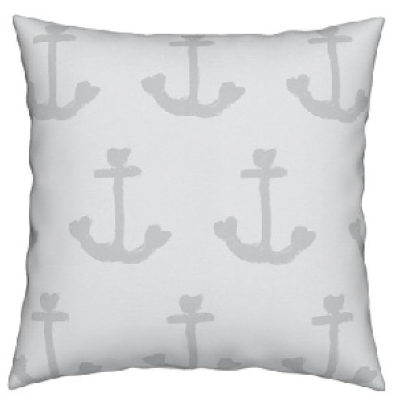 Ahoy Matey Dove Pillow