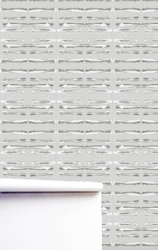The Line Dove Natural Wallpaper