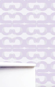 Nineteen Lilac Wallpaper