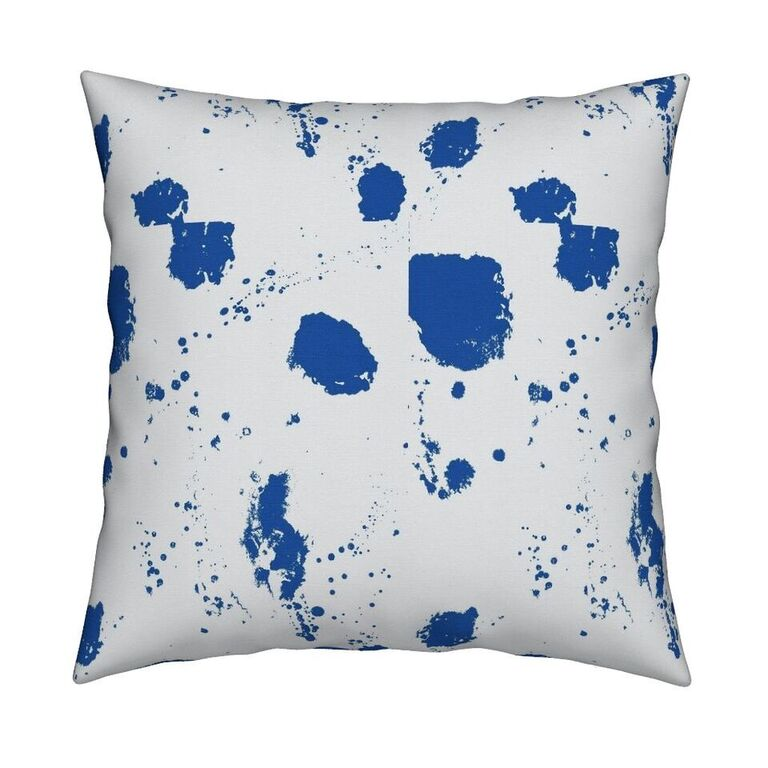 Splat Azure Pillow