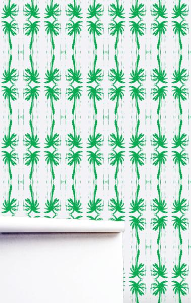 Palms Grass Wallpaper
