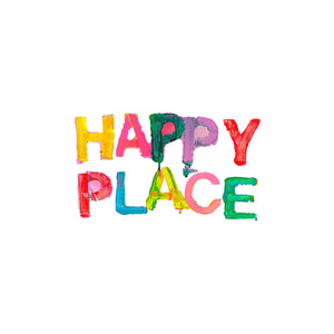 Happy Place Small Paperless Wallpaper (single)