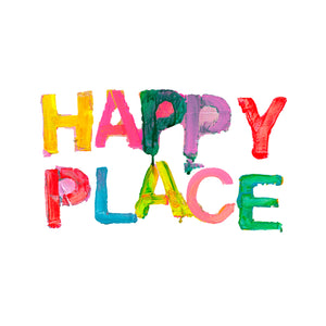 Happy Place Jumbo Paperless Wallpaper (single)