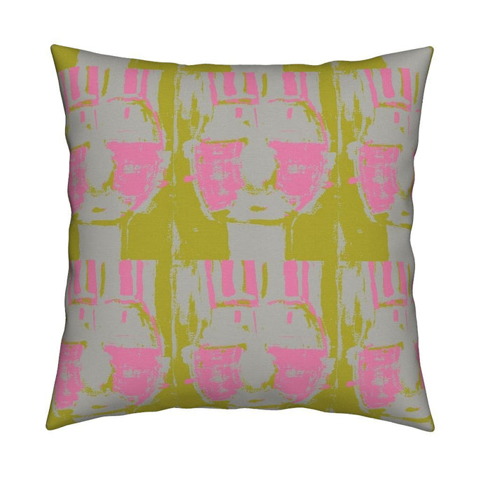 Bruno Citrine Bubblegum Pillow
