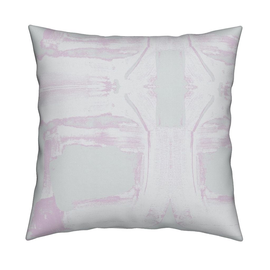 Block Washed Mauve Pillow