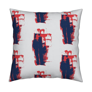 Keith Indigo Geranium Pillow