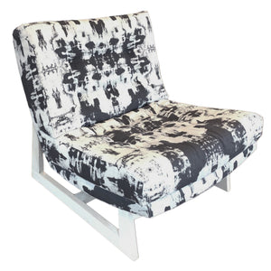 Romeo Chair in Top Down Belgian Linen
