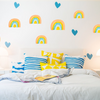 Kerri Rosenthal Pastel Rainbow Paperless Wallpaper. Just peel and stick.