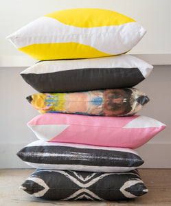 Seashells Reverse Carbon Pillow