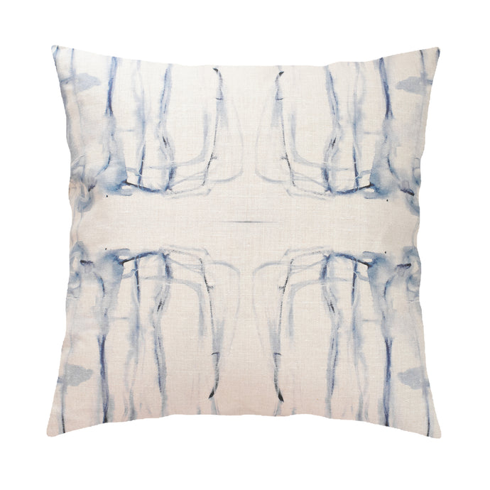 Me + You Indigo Pillow