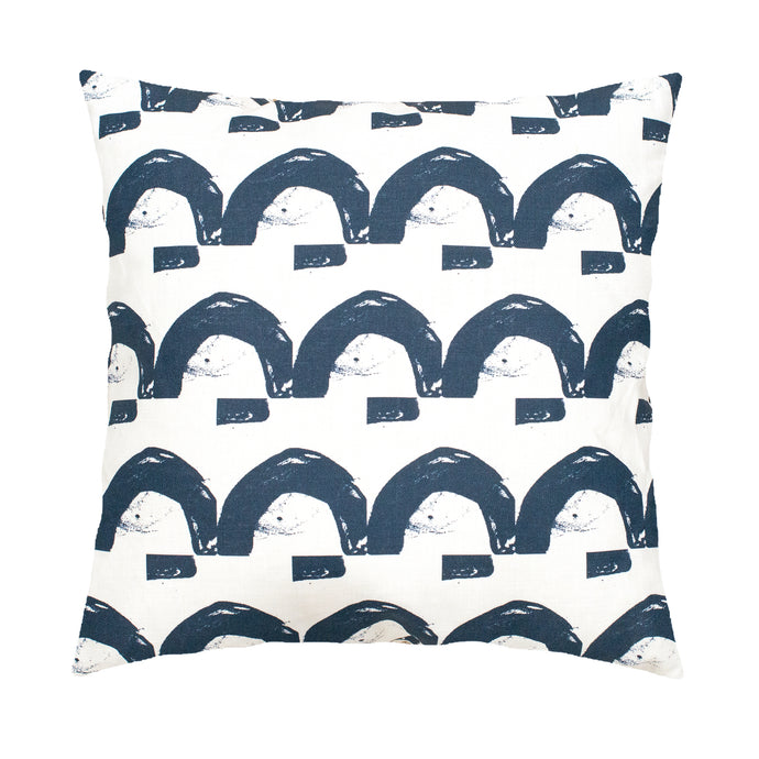 Happy Land Indigo Pillow