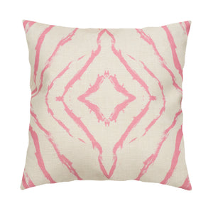 Seashells Pop Pink Pillow