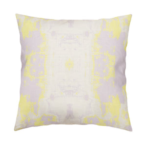 Top Down Lilac Washed Lime Pillow