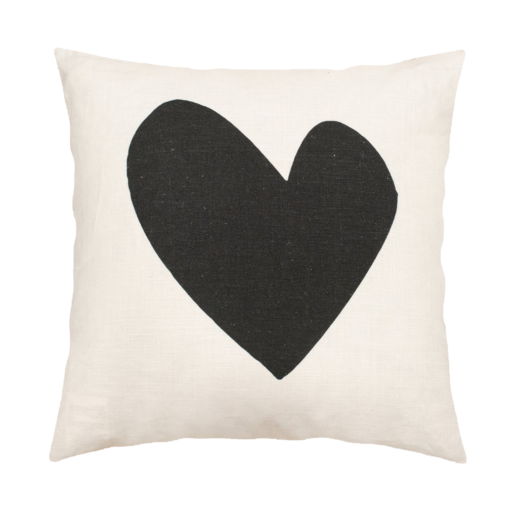 Imperfect Heart Carbon Pillow