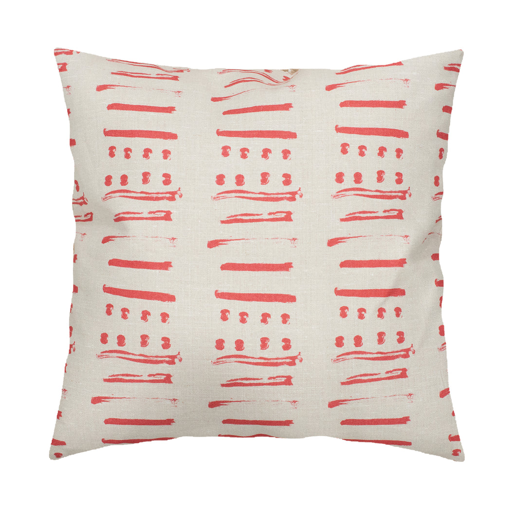 14 Layers Geranium Pillow