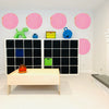Big Dots Bubblegum Paperless Wallpaper (6 per pack)