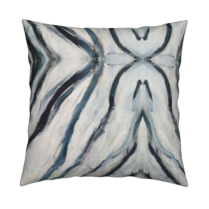 Seashells Teal Pillow - 2 in stock