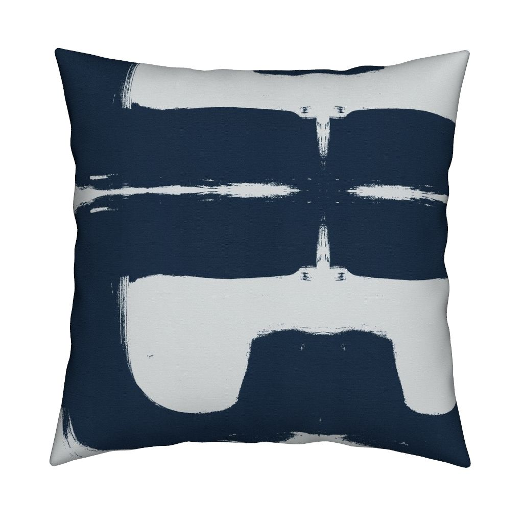 Nineteen Azure Pillow