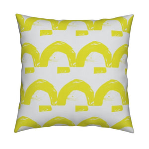 Happy Land Sunshine Pillow
