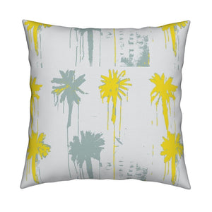 Pom-Poms Sunshine Pillow