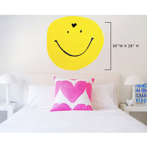 Love Is Smiley XL Paperless Wallpaper (single)