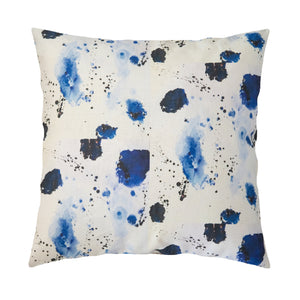 Splat Indigo Pillow