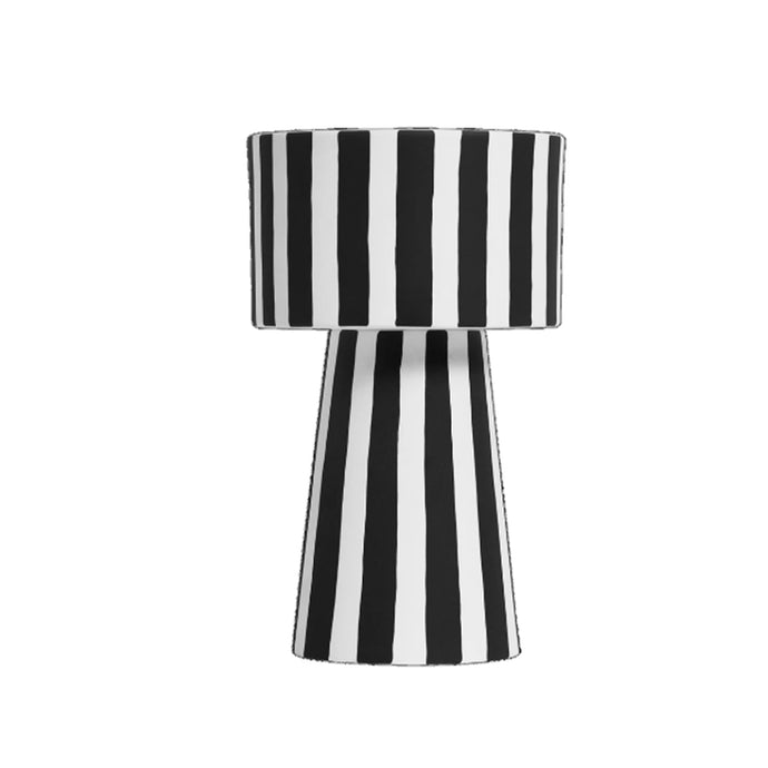 Stripe Large Vase