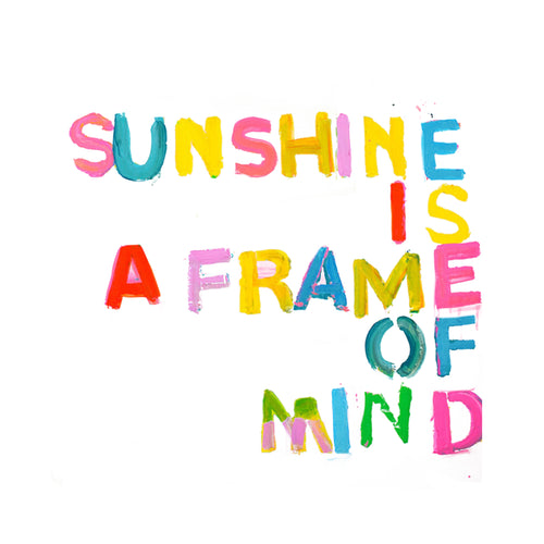 Sunshine Is A Frame Of Mind XL Paperless Wallpaper (single)