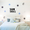 Paperless Wallpaper - Jumbo Sunshine Carbon, single