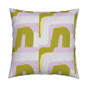 Tuk Tuk Blush Citrine Pillow