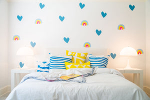 Paperless Wallpaper Imperfect Heart - Sunshine (12 Pack)
