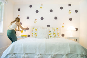 Paperless Wallpaper Dots - Carbon (12 Pack)
