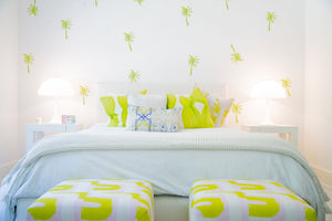 Paperless Wallpaper Palm - Lime (12 Pack)