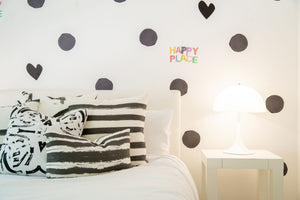 Imperfect Heart Carbon Paperless Wallpaper (12 per pack)