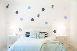 Paperless Wallpaper Dots - Periwinkle (12 Pack)