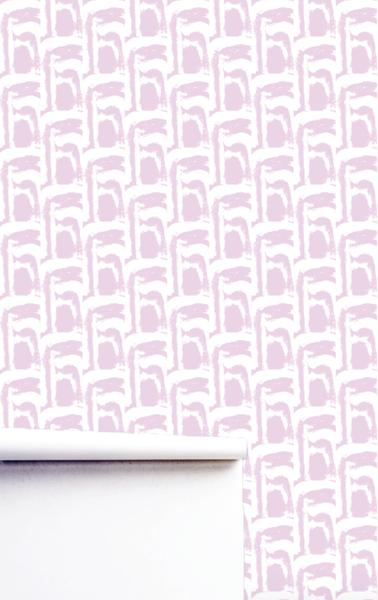 Marigot Mauve Wallpaper