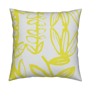 Sing Sing Tree Sunshine Pillow