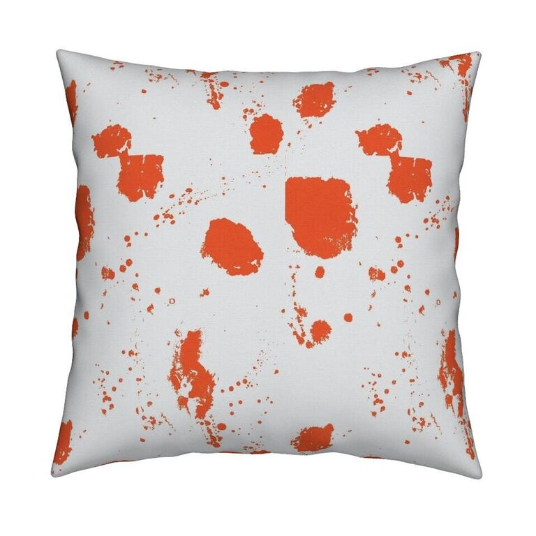 Splat Clementine Pillow