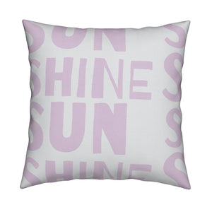 Sunshine Mauve Pillow