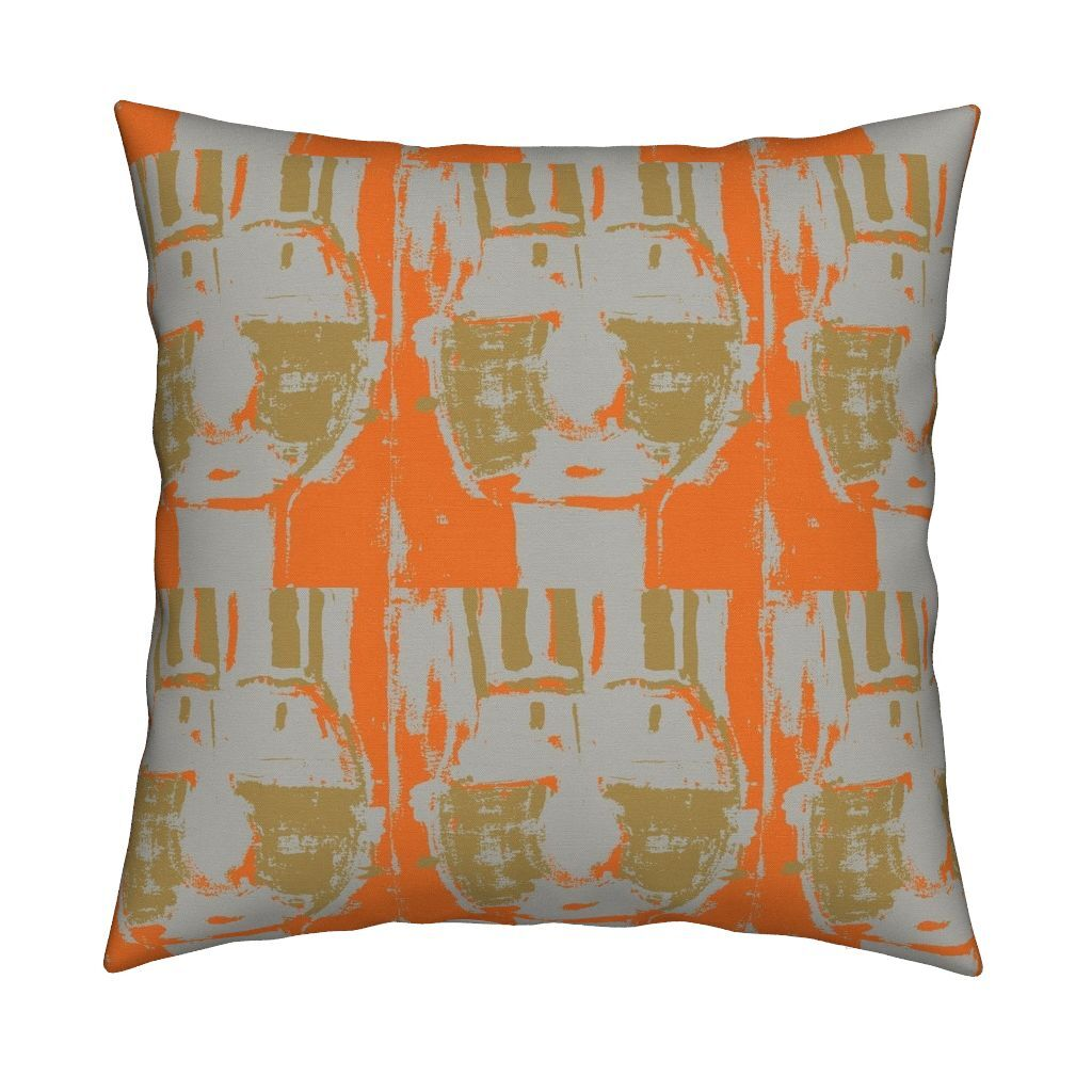 Bruno Clementine Sand Dune Pillow