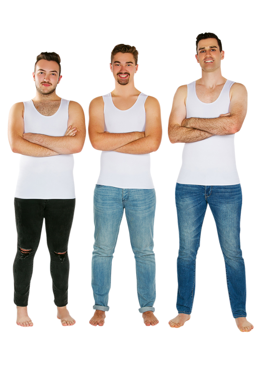 3 Pack Of CalmWear Sensory Vests | Mens - SAVE OVER $40