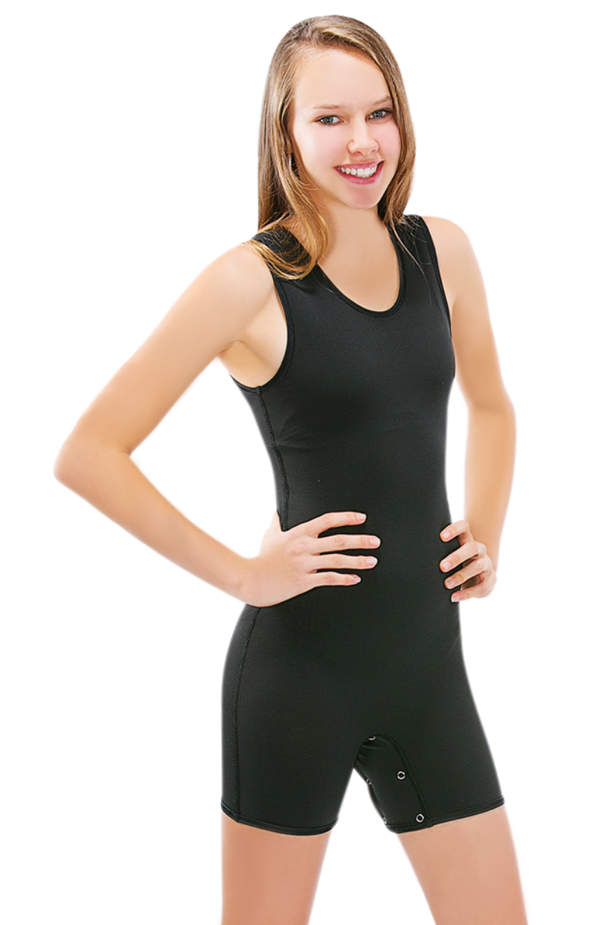 CalmWear Therapy Bodysuit - Sleeveless | Girls