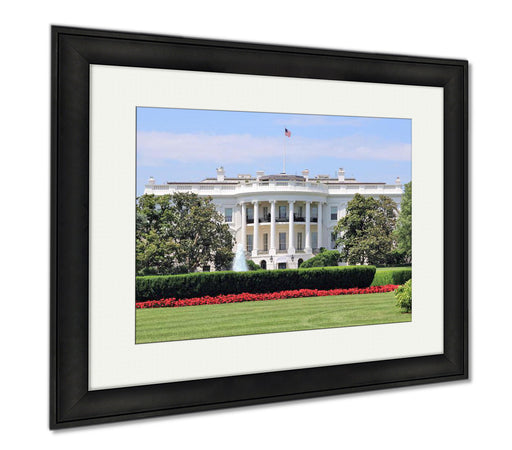 The White House On A Summer Afternoon