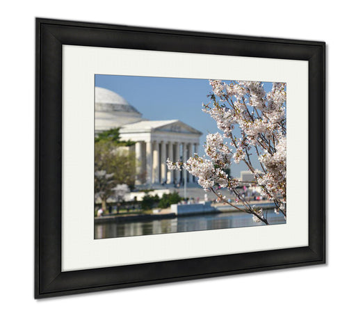 Washington D.C. Cherry Blossom Festival At Jefferson Memorial