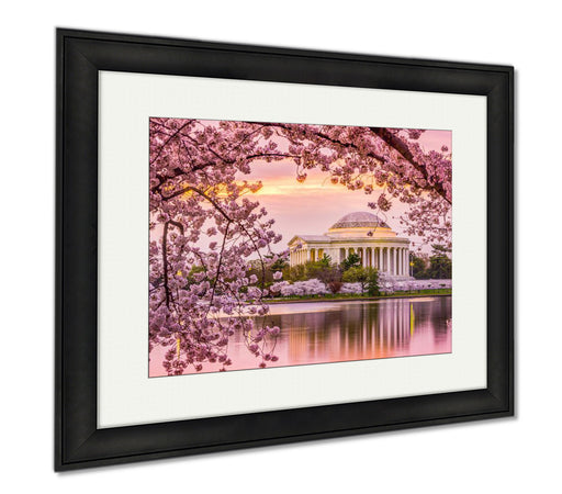 Jefferson Memorial In Spring